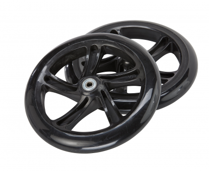 A5 DLX 200mm Wheels – Black (Set of 2)
