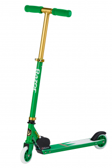 A Kick Scooter LTD Power Ranger Green