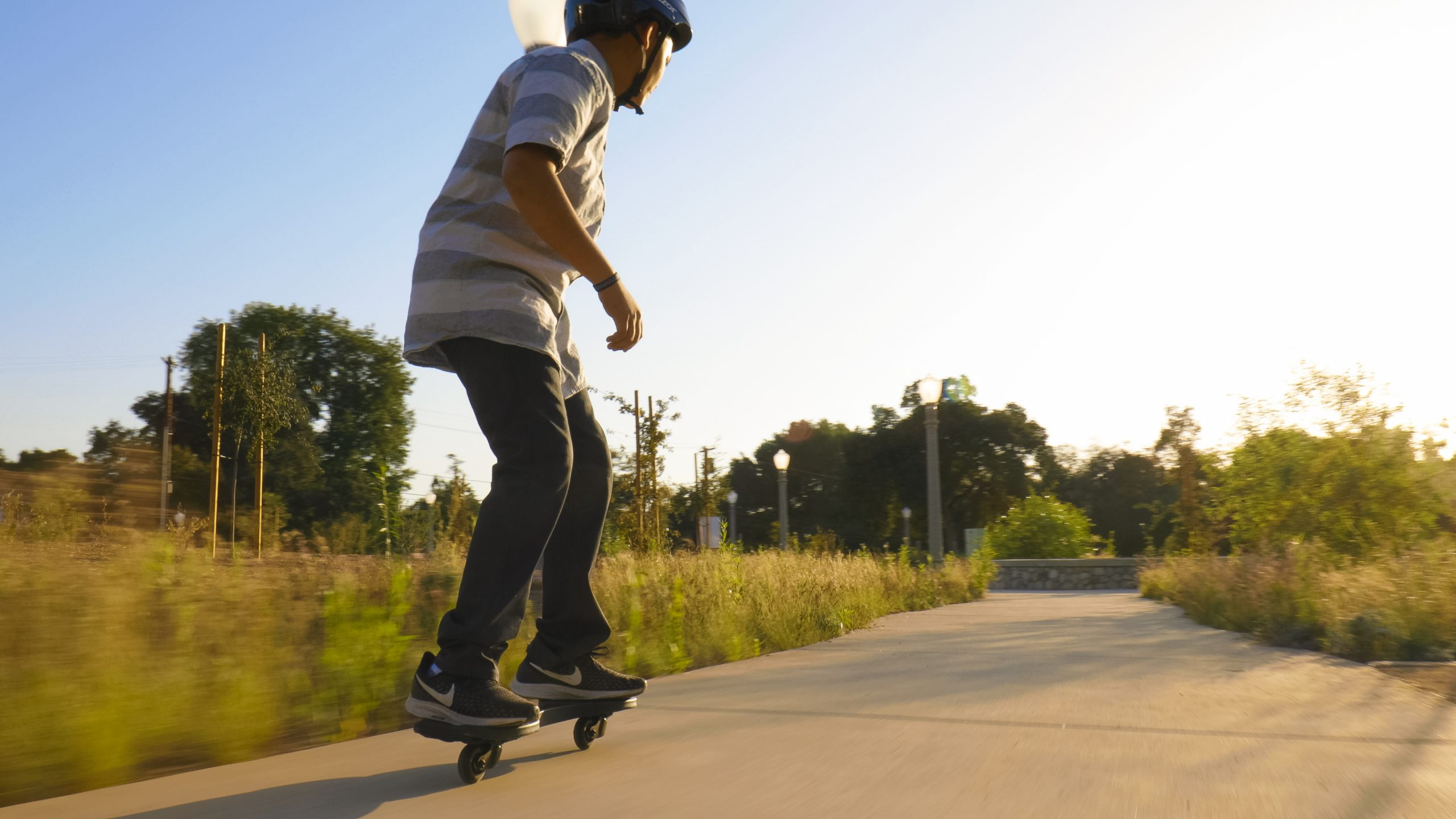 "Board Caster Skateboard Ripstik Razor Ripster Carving Air Ride On Deck Black 34/"""