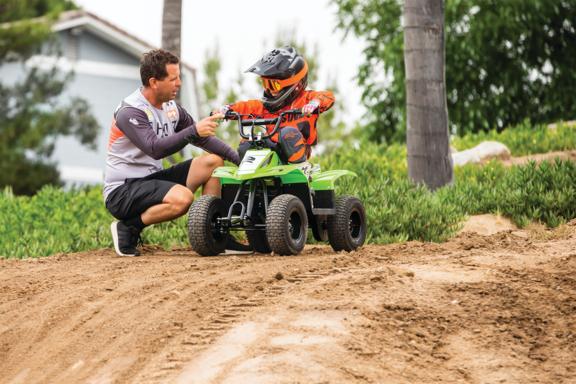 Dirt Quad SX McGrath
