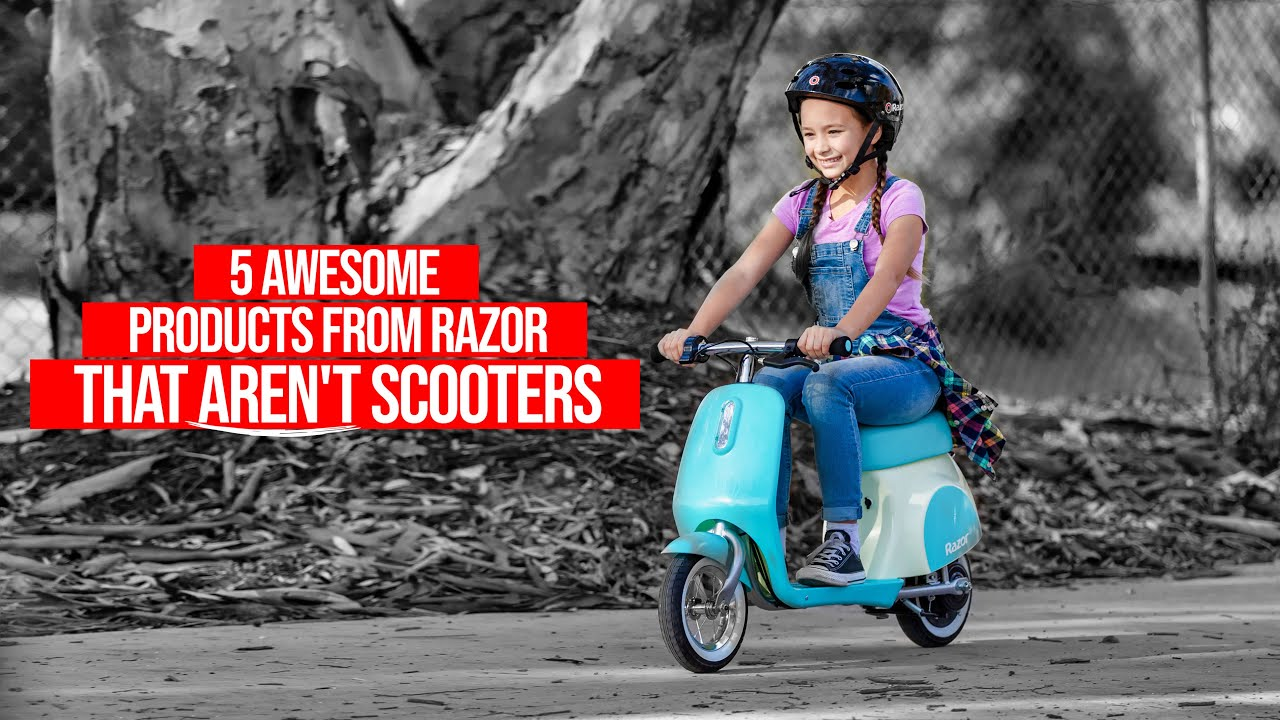 5 Awesome Products from Razor that Aren't Scooters!