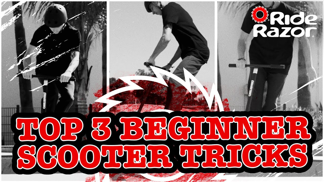 Top 3 Beginner Scooter Tricks