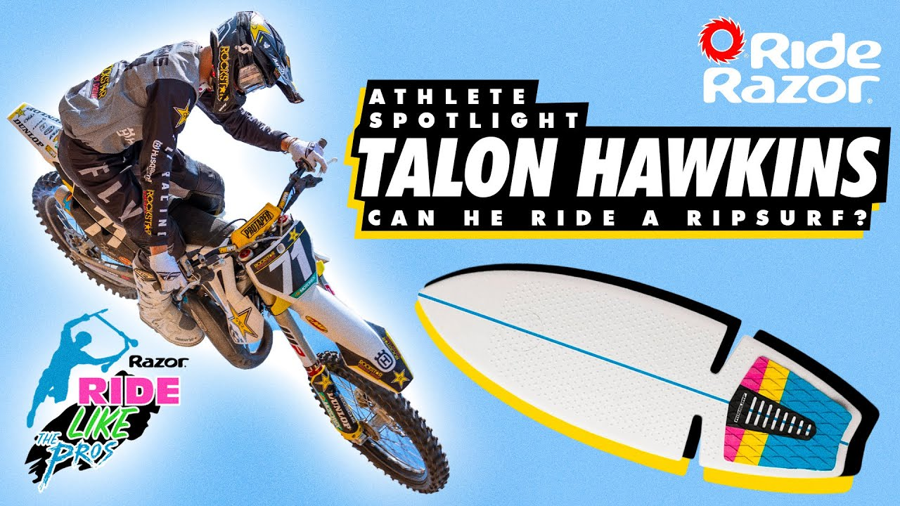 Talon Hawkins Chats with RideRazor (RipSurf A Halfpipe)