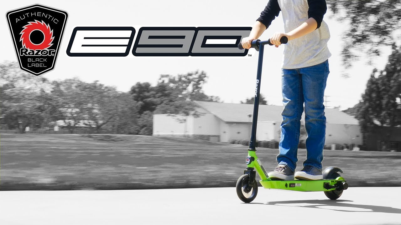 Razor Presents: Black Label E90 Electric Scooter