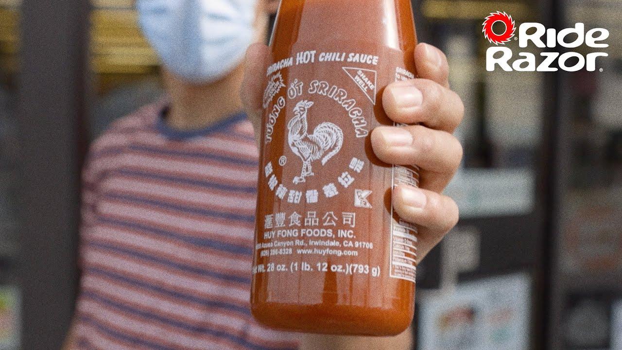 Razor X Sriracha – Directed by Mattisse Hawthorne