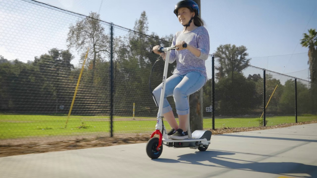 E200S Electric Scooter Ride Video
