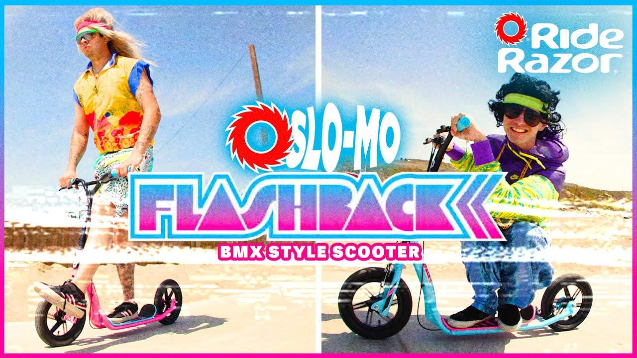 Slo-Mo Rides – Flashback BMX Style Scooter