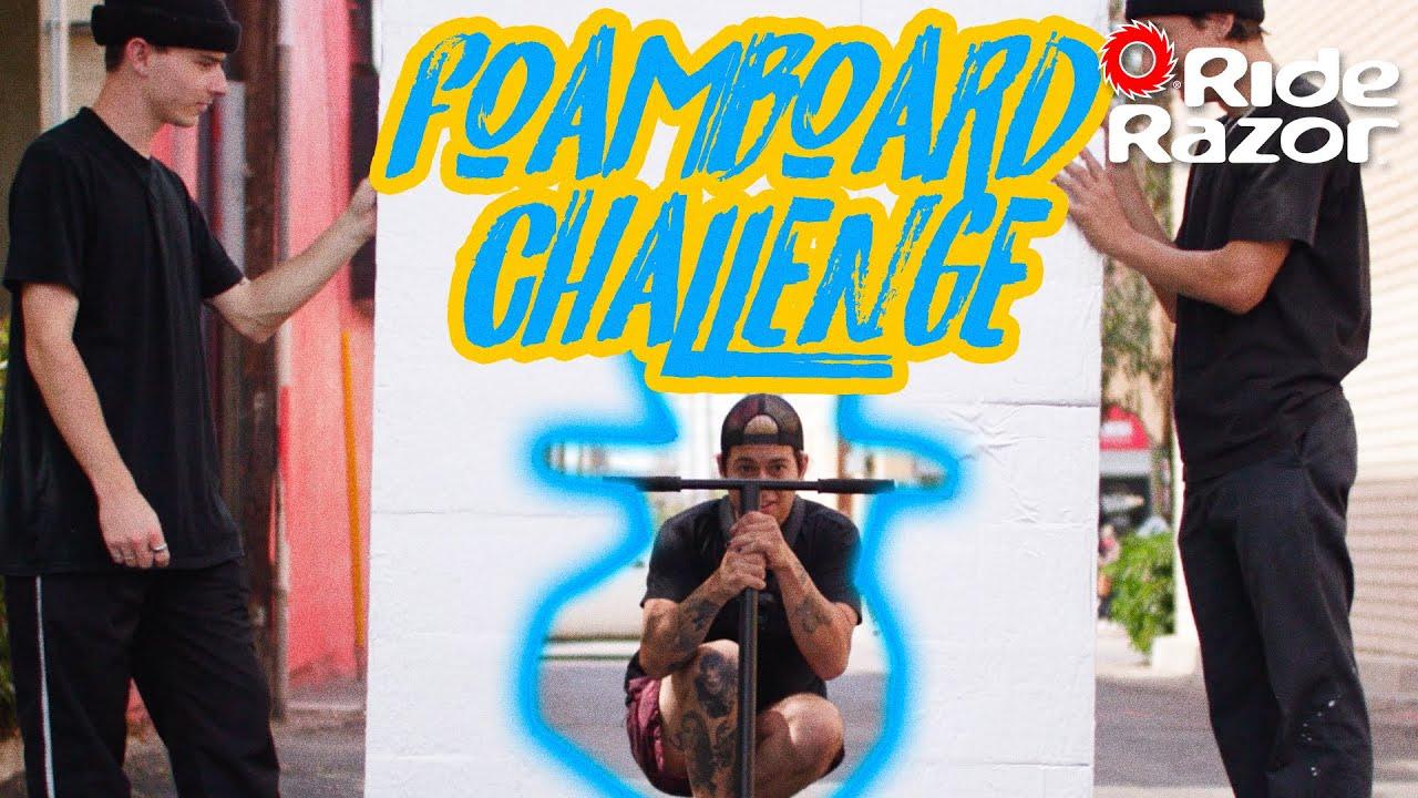 Razor Foamboard Challenge