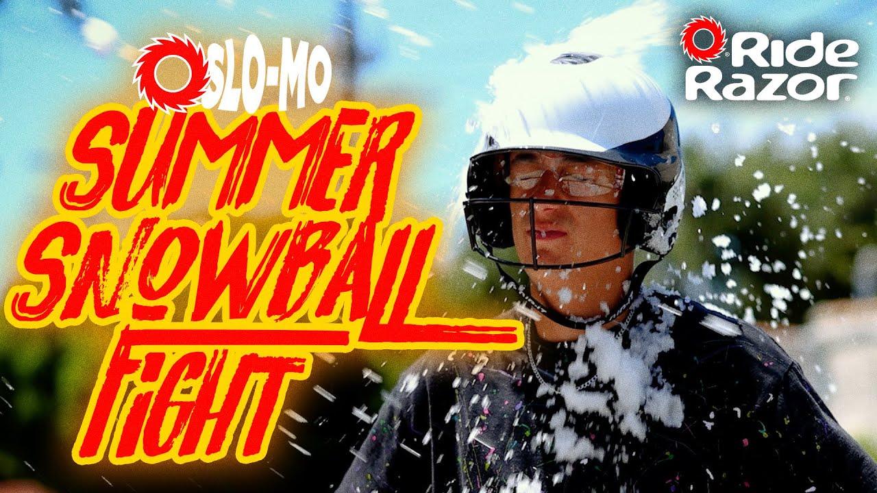 Slo-Mo Rides – Summer Snowball Fight