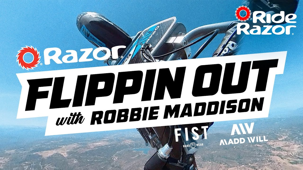 Flippin Out With Robbie Maddison (Teaser)
