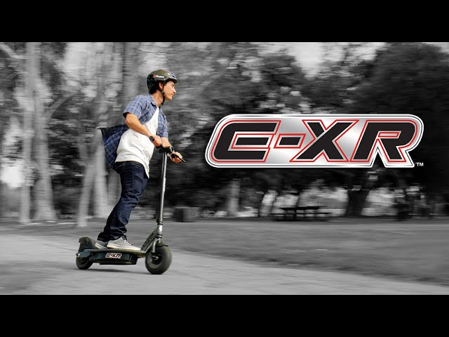 E-XR Electric Scooter Ride Video with Features